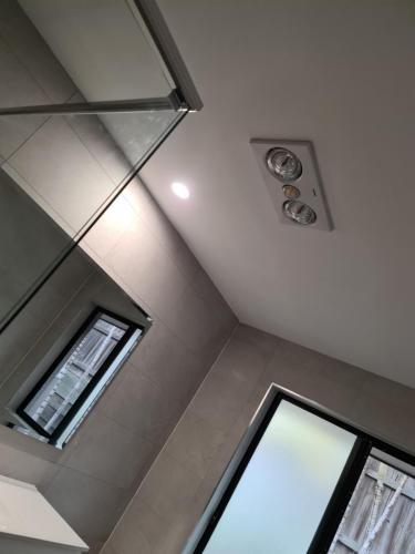 Ceiling Fan And Heater