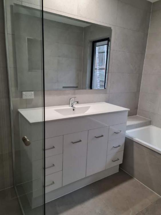 Newly renovated bathroom on Brisbane Northside