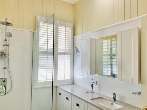 Queenslander Bathroom Renovation - Vanity and Mirror